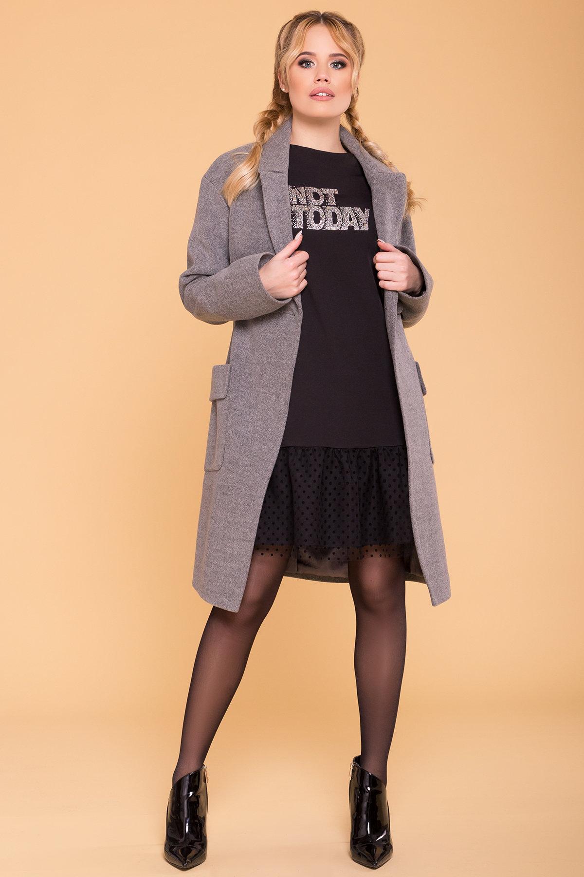 Пальто Парма (94) 6341 АРТ. 41170 Цвет: Серый 18 - фото 3, интернет магазин tm-modus.ru