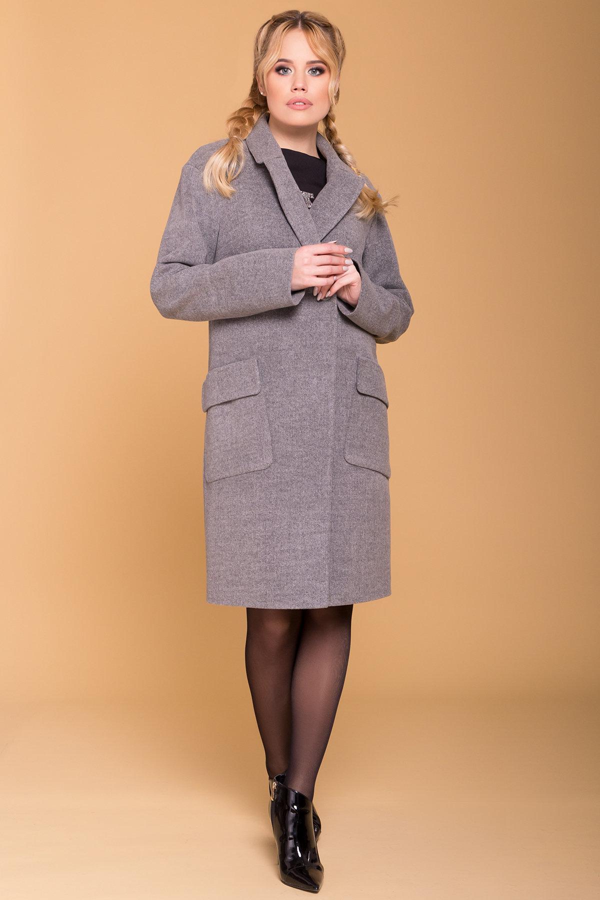Пальто Парма (94) 6341 АРТ. 41170 Цвет: Серый 18 - фото 4, интернет магазин tm-modus.ru