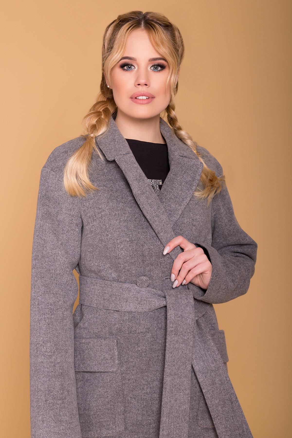 Пальто Парма (94) 6341 АРТ. 41170 Цвет: Серый 18 - фото 5, интернет магазин tm-modus.ru
