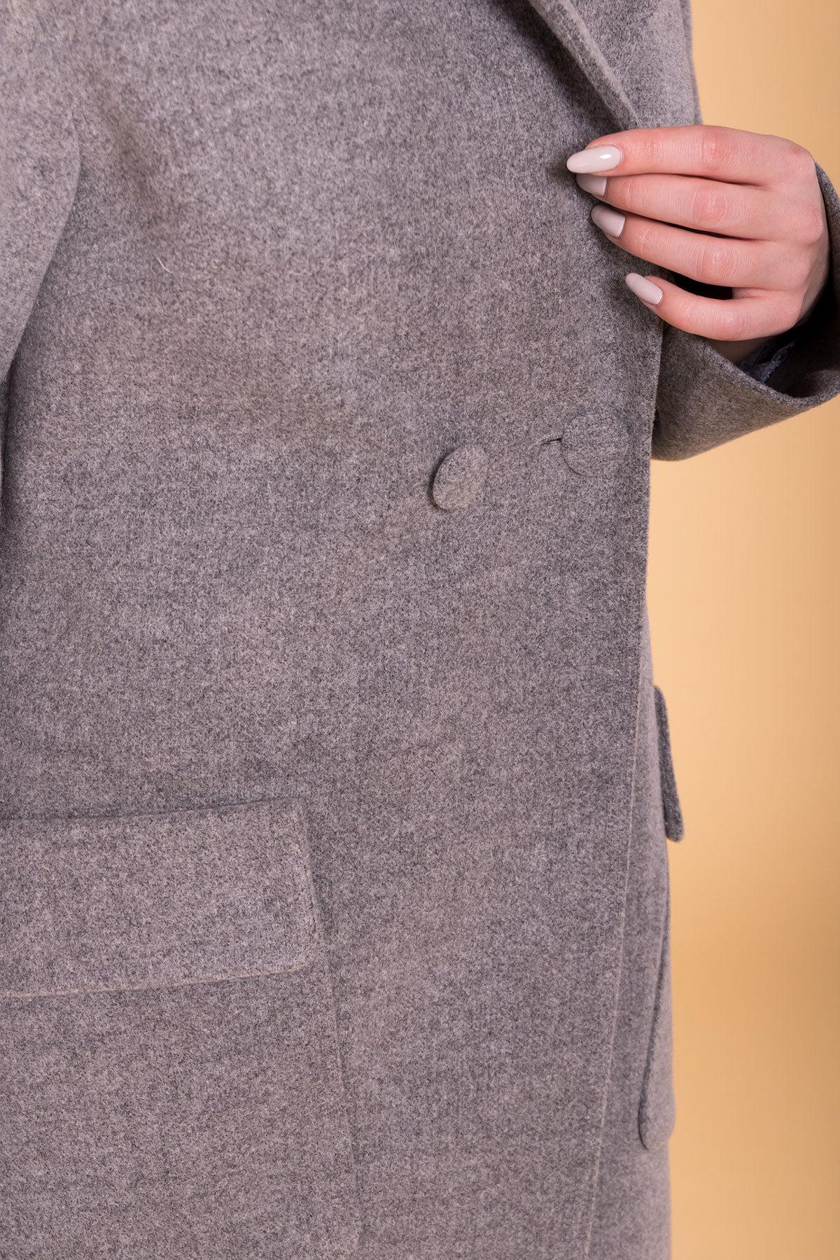 Пальто Парма (94) 6341 АРТ. 41170 Цвет: Серый 18 - фото 6, интернет магазин tm-modus.ru