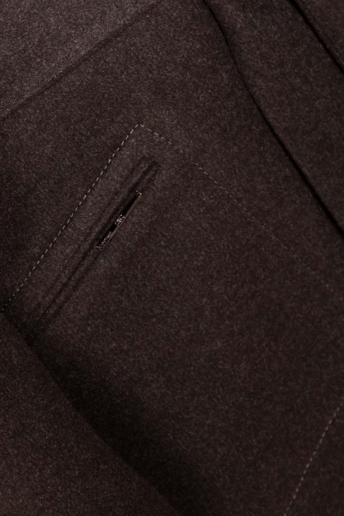 Пальто миди с прорезными карманами Ждана лайт 6337 АРТ. 41149 Цвет: Хаки 16 - фото 6, интернет магазин tm-modus.ru