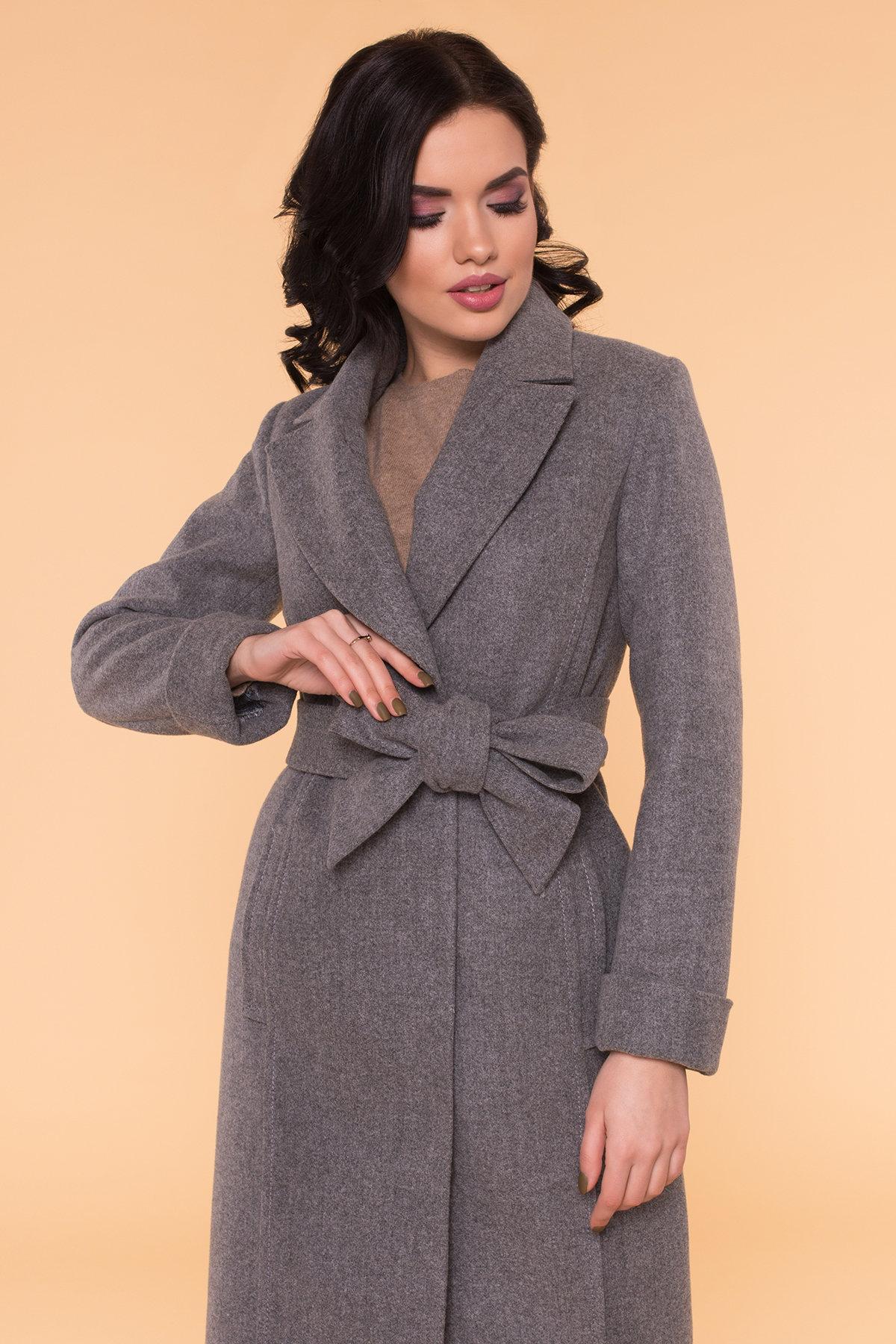 Пальто Лесли 6262 АРТ. 41034 Цвет: Серый 18 - фото 9, интернет магазин tm-modus.ru