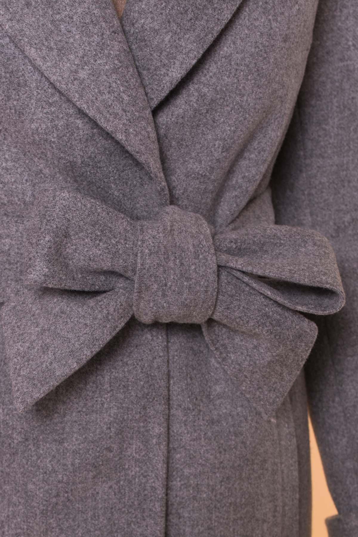 Пальто Лесли 6262 АРТ. 41034 Цвет: Серый 18 - фото 11, интернет магазин tm-modus.ru