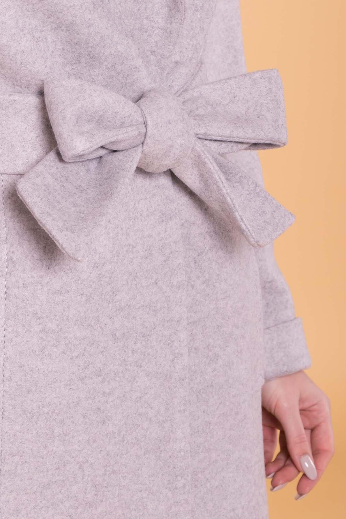 Пальто Лесли 6321 АРТ. 41097 Цвет: Серый Светлый 27 - фото 6, интернет магазин tm-modus.ru