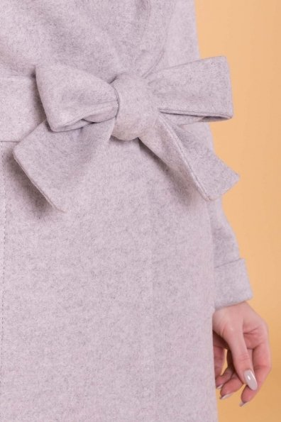 Пальто Лесли 6321 Цвет: Серый Светлый 27