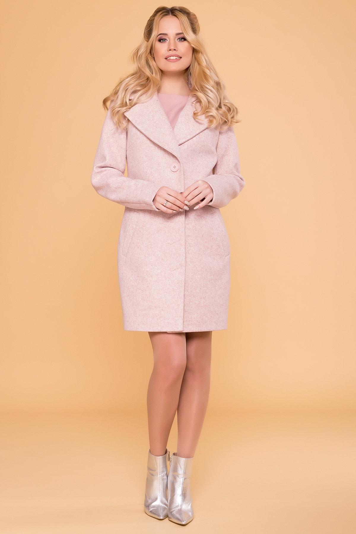 Пальто Габриэлла 5558 Цвет: Бежевый/Розовый 6