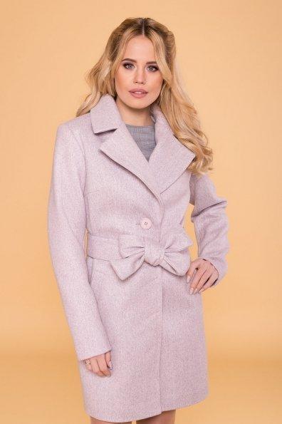 Пальто Габриэлла 5558 Цвет: Серый-розовый 21