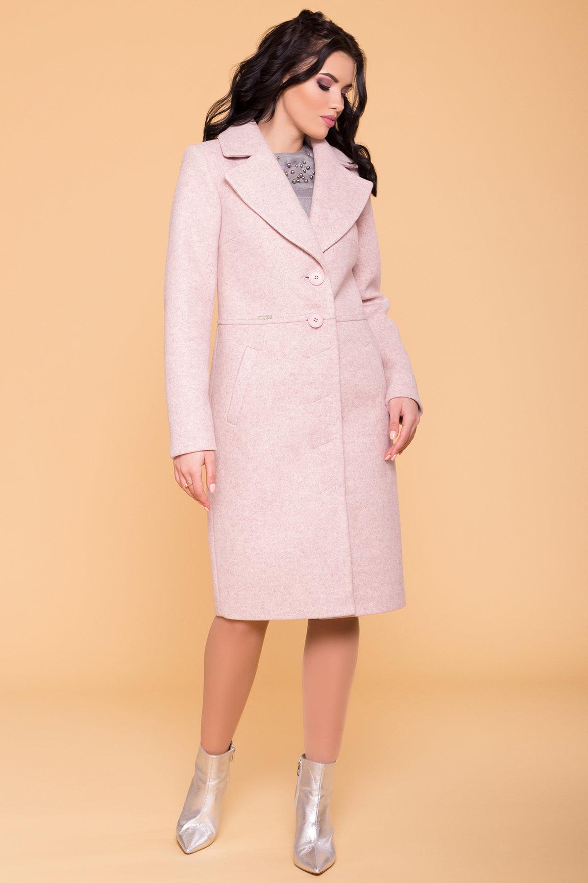 Пальто Габриэлла 6289 Цвет: Бежевый/Розовый 6
