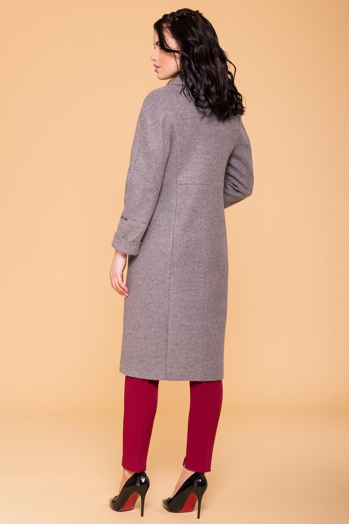 Пальто Верди 6205 АРТ. 41156 Цвет: Карамель 20/1 - фото 2, интернет магазин tm-modus.ru