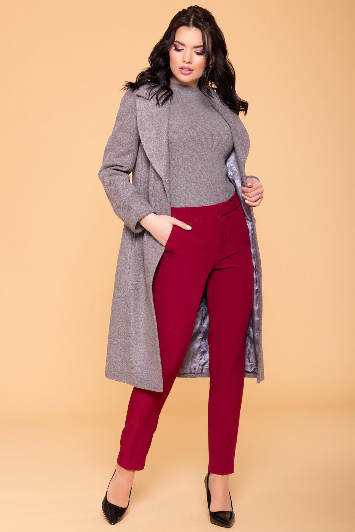 Пальто Верди 6205 АРТ. 41156 Цвет: Карамель 20/1 - фото 3, интернет магазин tm-modus.ru