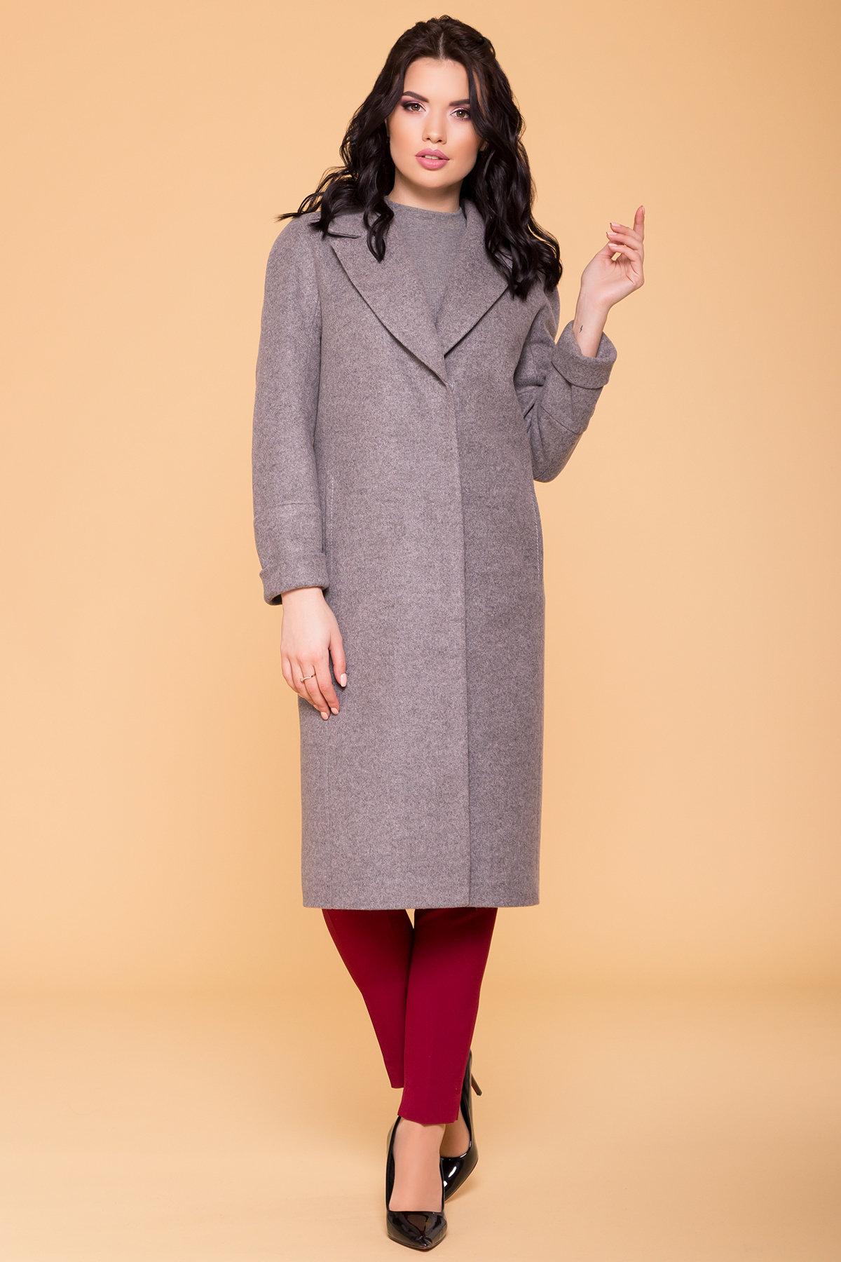 Пальто Верди 6205 АРТ. 41156 Цвет: Карамель 20/1 - фото 4, интернет магазин tm-modus.ru
