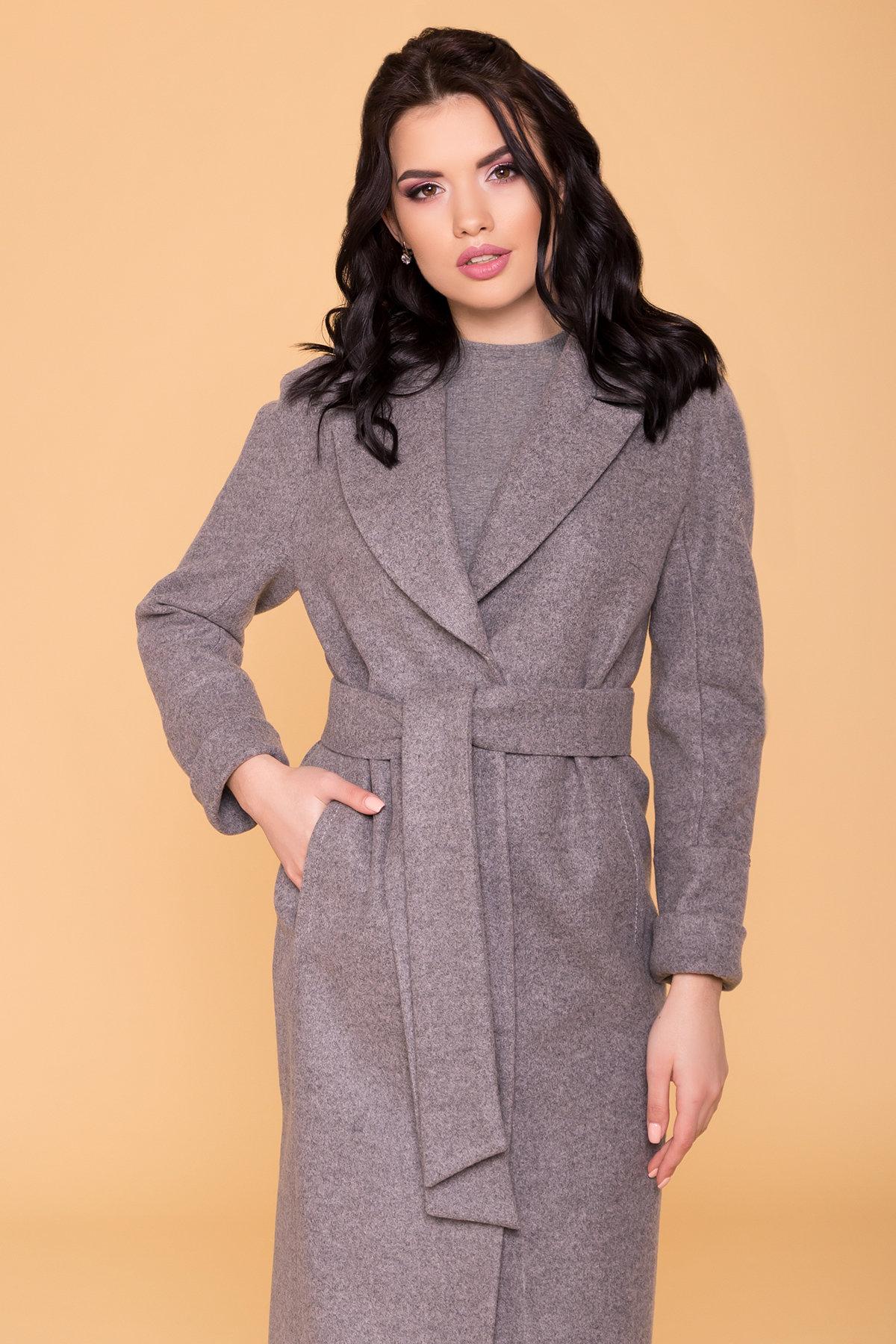 Пальто Верди 6205 АРТ. 41156 Цвет: Карамель 20/1 - фото 5, интернет магазин tm-modus.ru