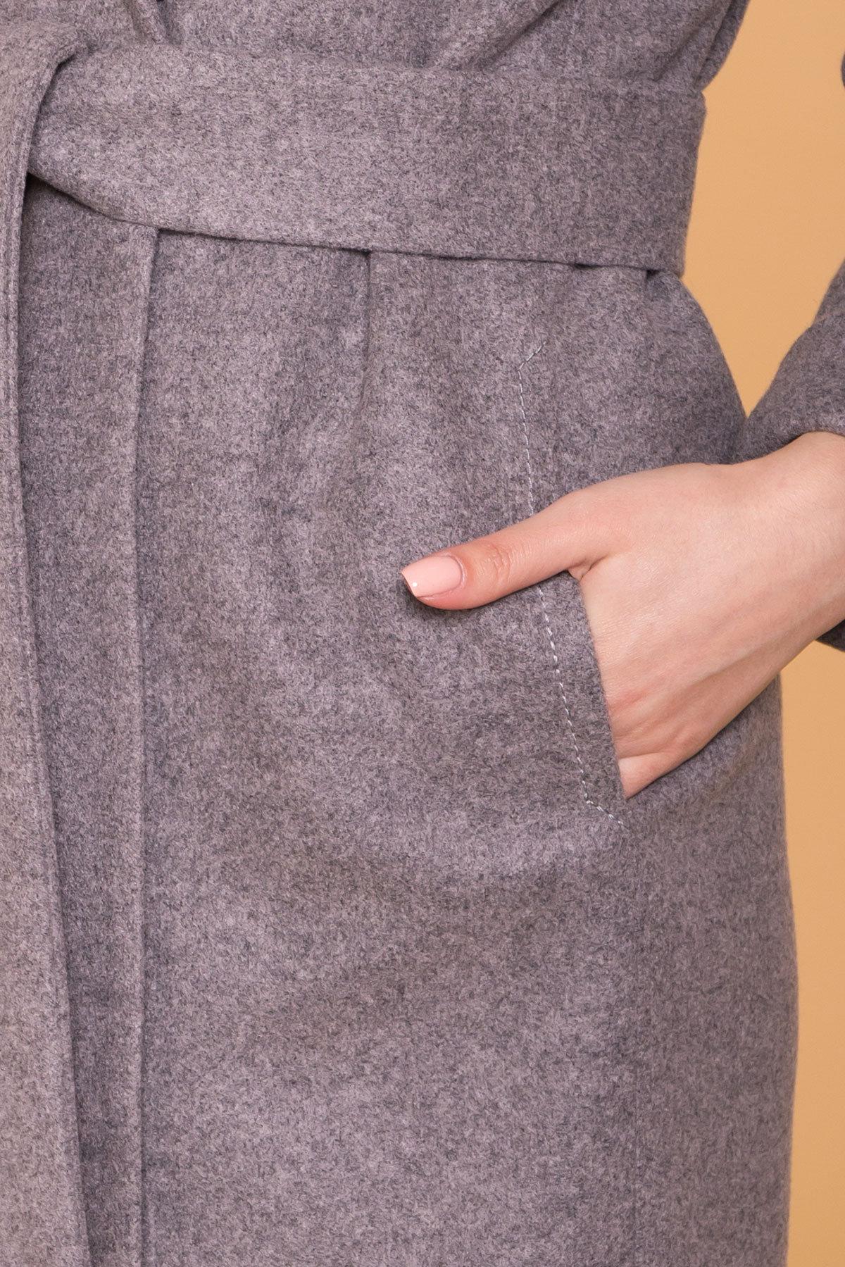 Пальто Верди 6205 АРТ. 41156 Цвет: Карамель 20/1 - фото 6, интернет магазин tm-modus.ru