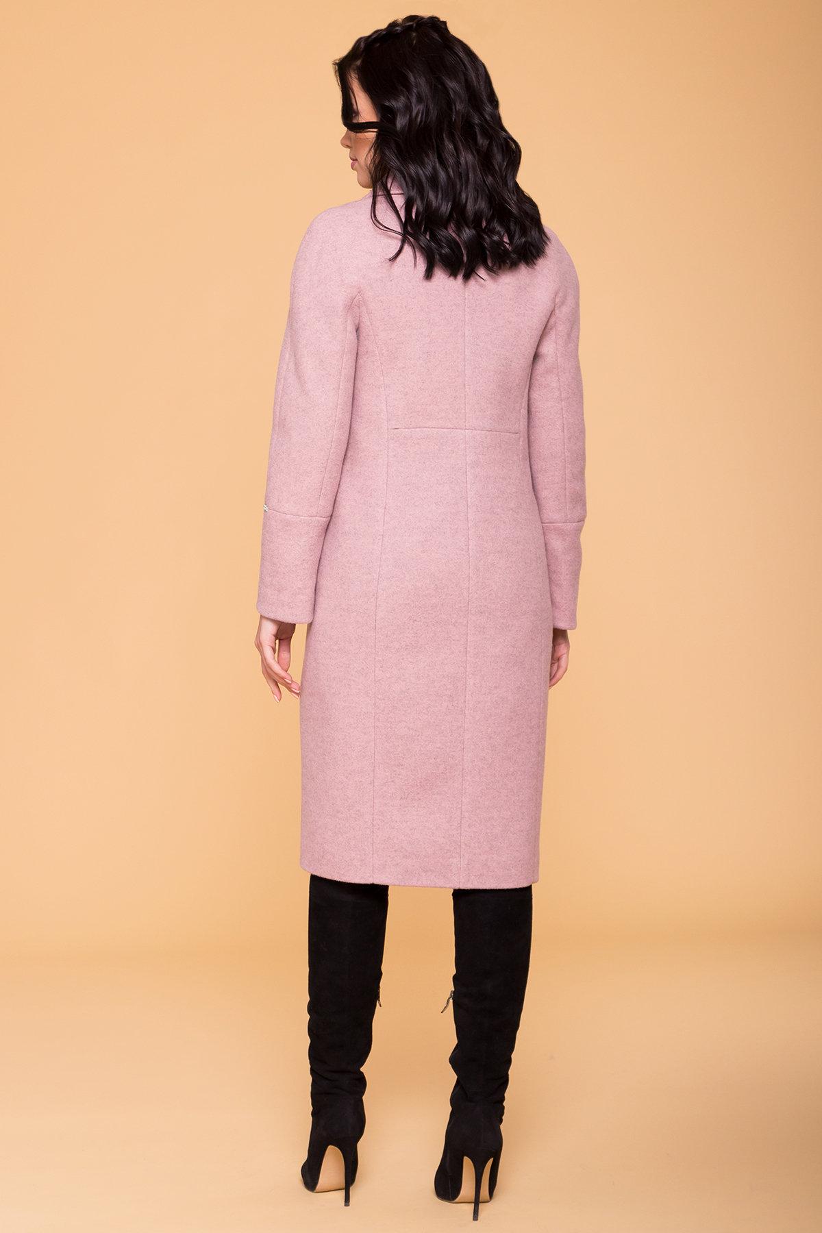 Пальто Верди 6351 Цвет: Серо-розовый 7