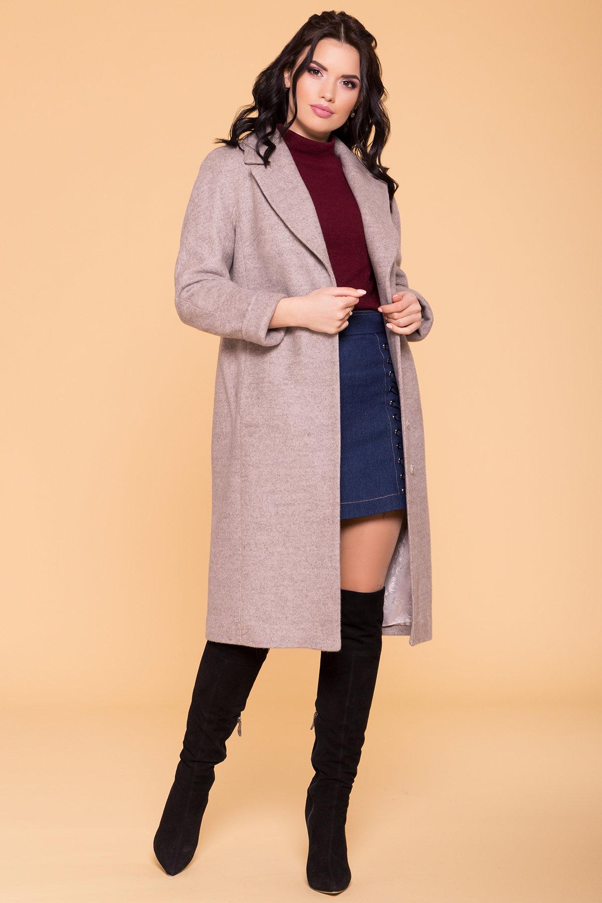Пальто Верди 6205 АРТ. 41214 Цвет: Бежевый 31 - фото 4, интернет магазин tm-modus.ru