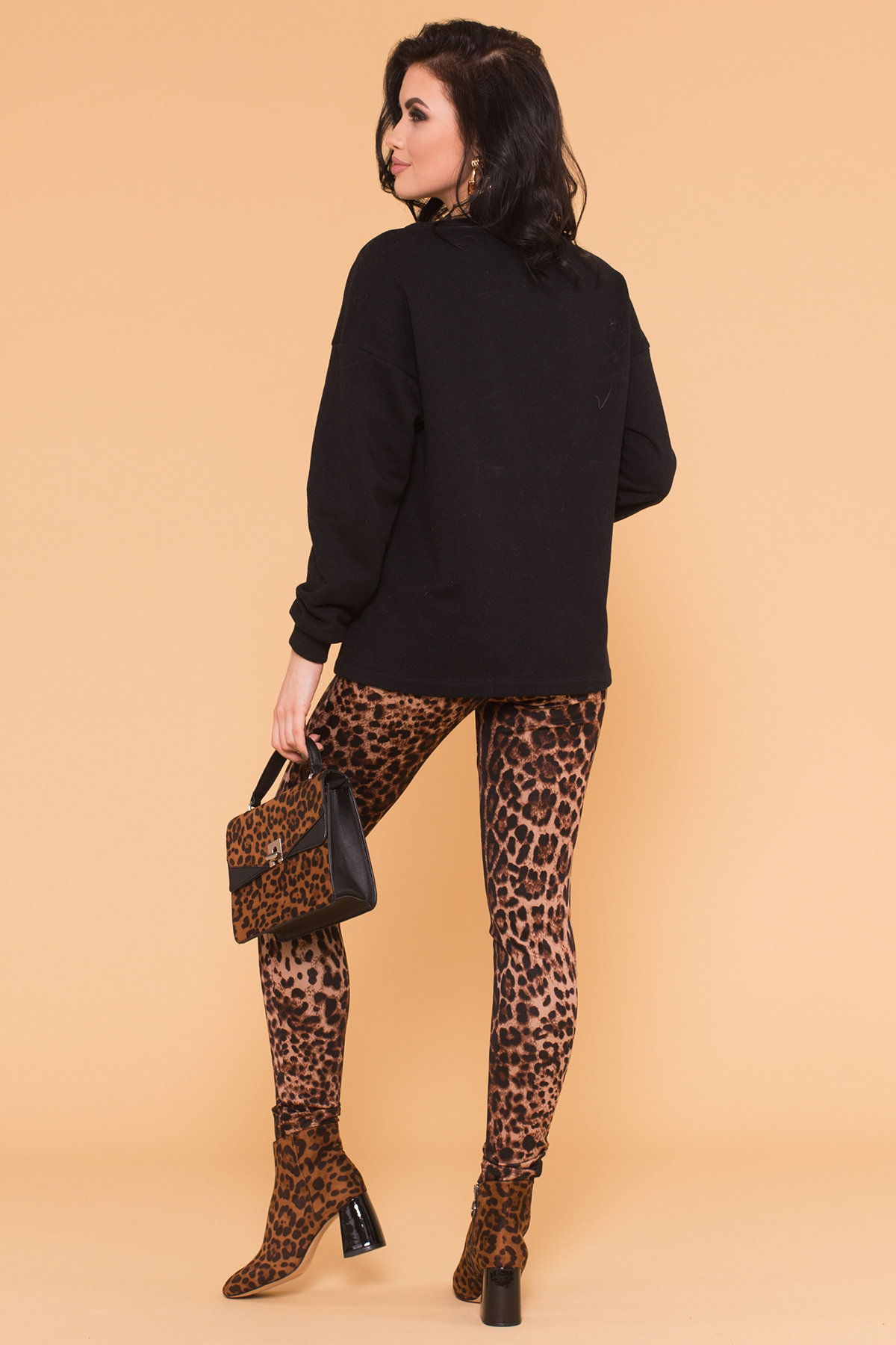 Костюм Люпен 6209 Цвет: Леопард кофе