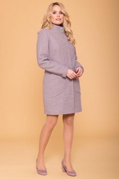 Пальто Габи 6330 Цвет: Серо-розовый тёмный 32