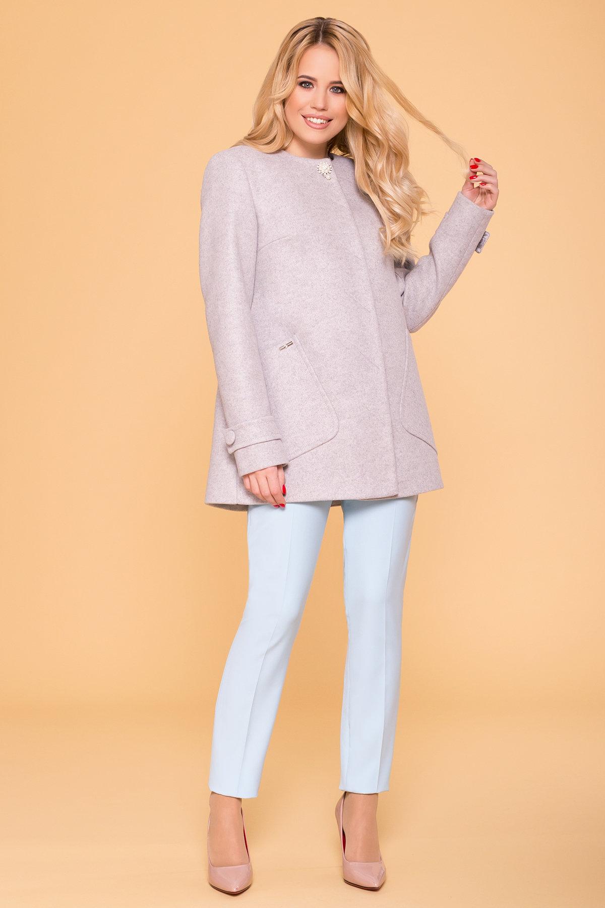 Пальто женские демисезонные недорого от Modus Пальто Латте 5637