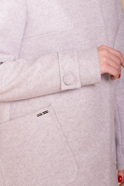 Пальто Латте 5637 Цвет: Серый Светлый 27