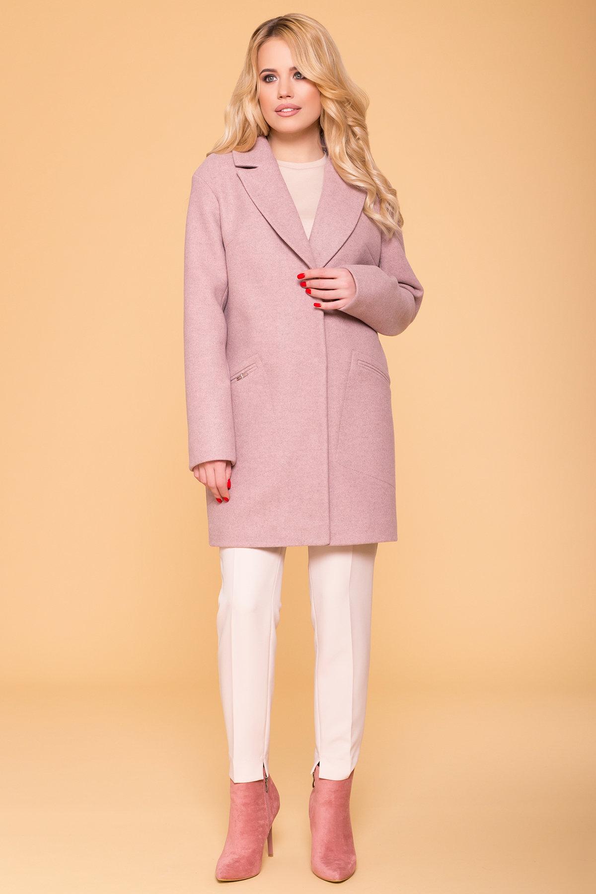 Пальто Ждана Лайт 6231 Цвет: Пудра 91