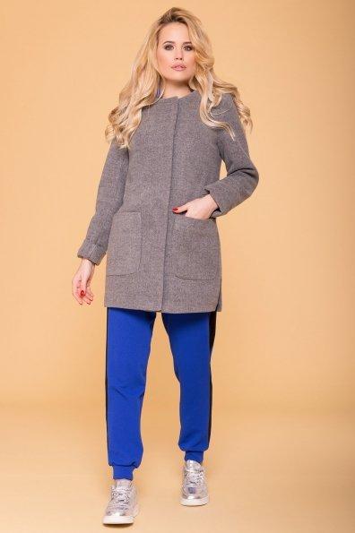 Пальто Ажен лайт 6293 Цвет: Серый 18