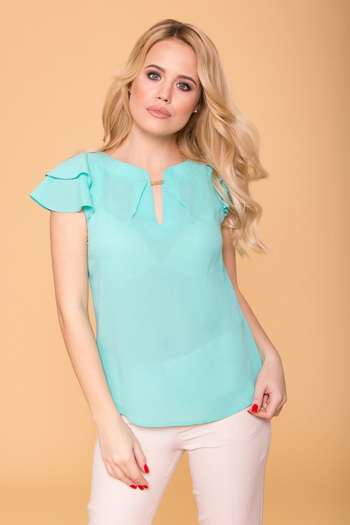 TW Блуза Инканто 0340 АРТ. 15338 Цвет: Мята - фото 3, интернет магазин tm-modus.ru
