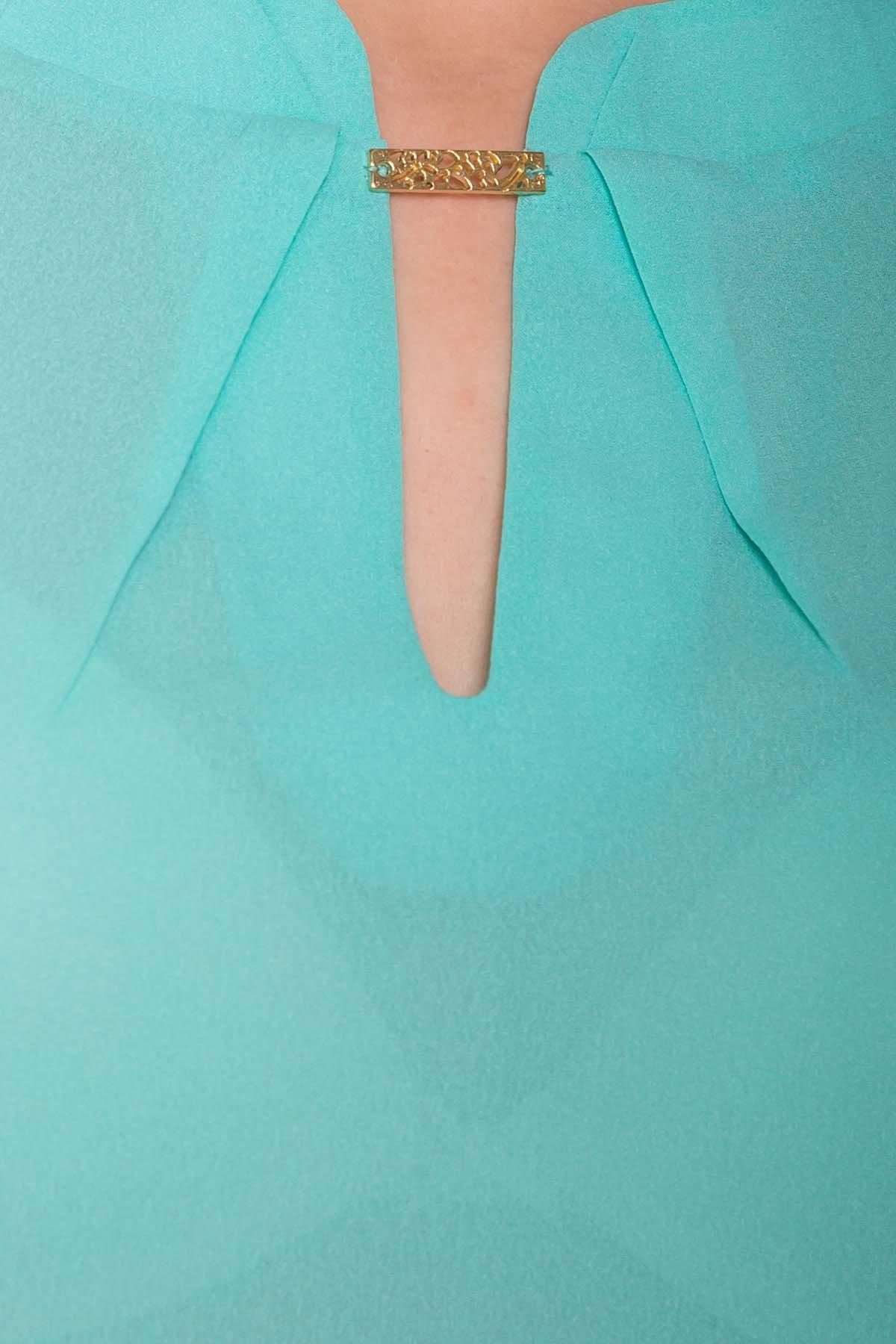 TW Блуза Инканто 0340 АРТ. 15338 Цвет: Мята - фото 4, интернет магазин tm-modus.ru
