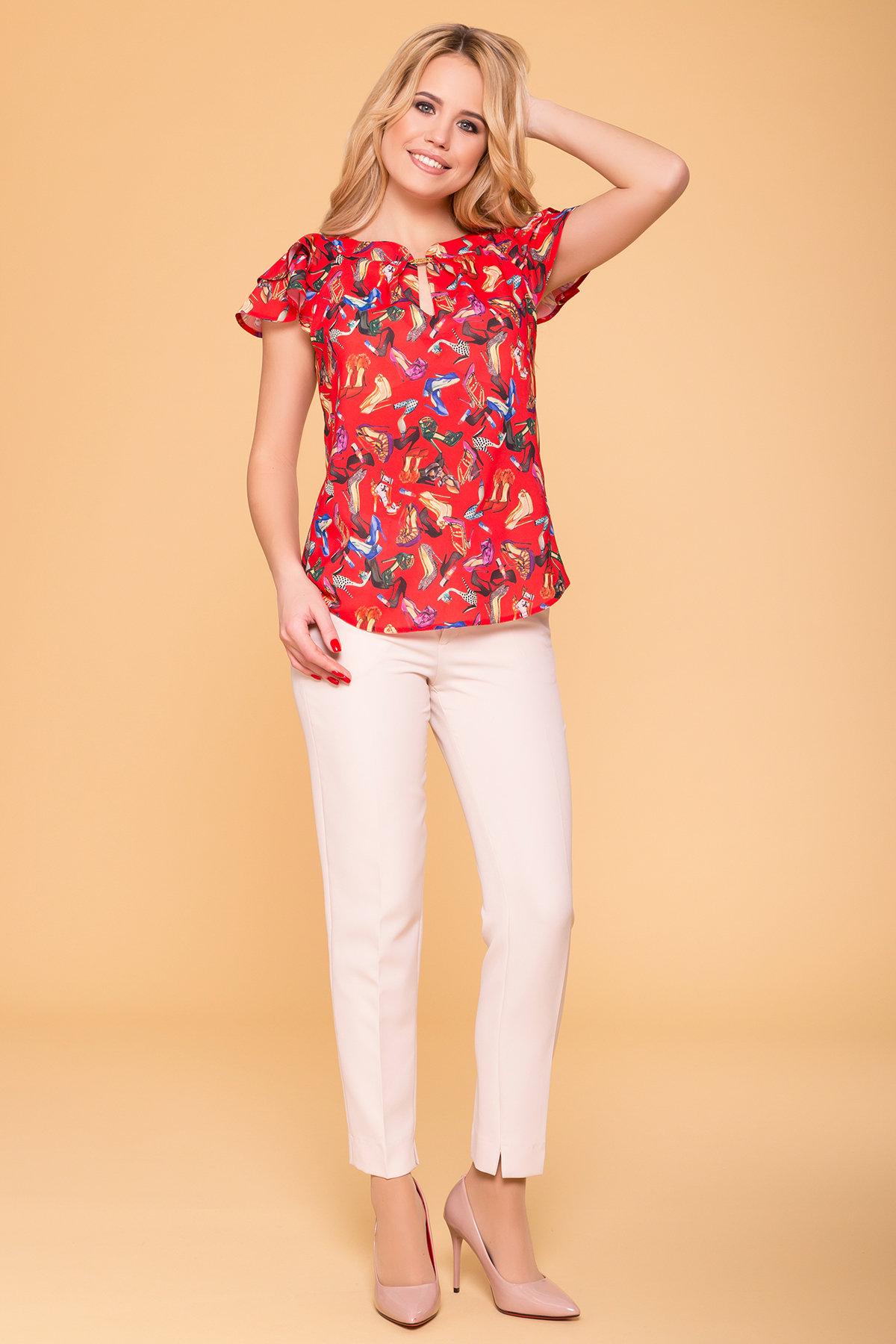 Блузы купить Украина от Modus Блуза с принтом Инканто 3916