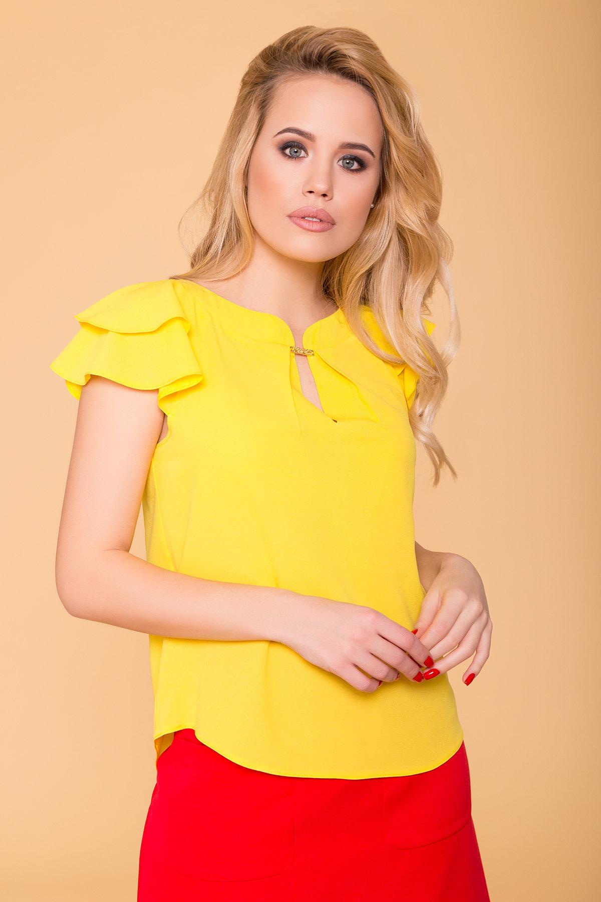 TW Блуза Инканто 0340 АРТ. 41397 Цвет: Желтый - фото 3, интернет магазин tm-modus.ru