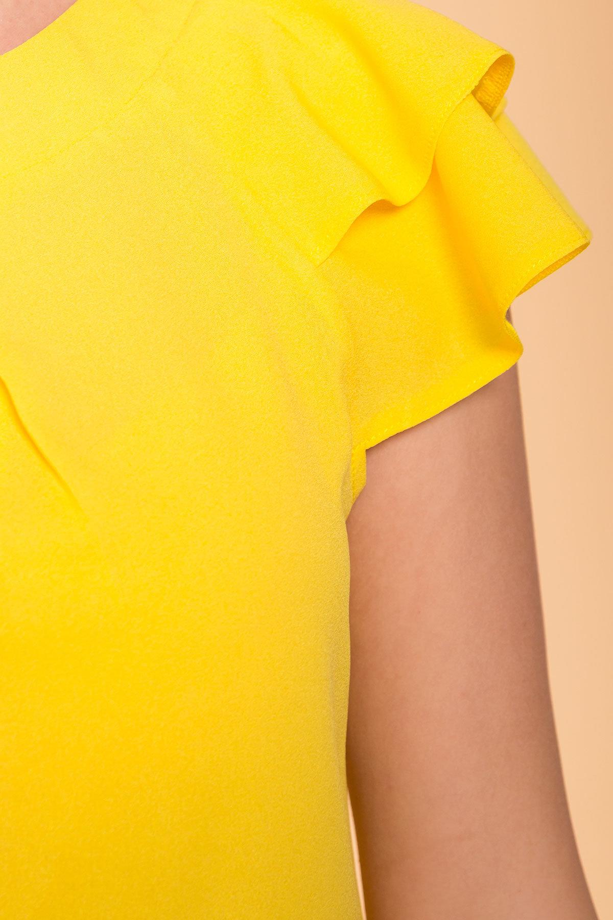 TW Блуза Инканто 0340 АРТ. 41397 Цвет: Желтый - фото 4, интернет магазин tm-modus.ru
