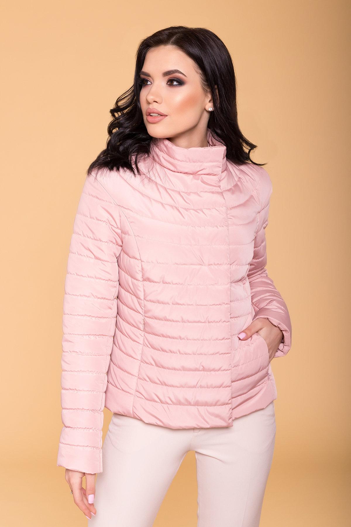 Куртка Флориса лайт 6416 АРТ. 41333 Цвет: Пудра - фото 4, интернет магазин tm-modus.ru