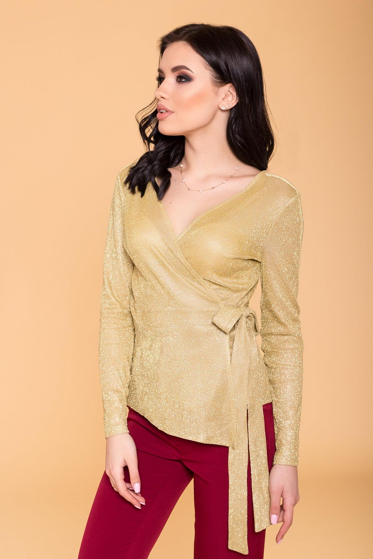 Блуза Маро люрекс 6349 Цвет: Золото