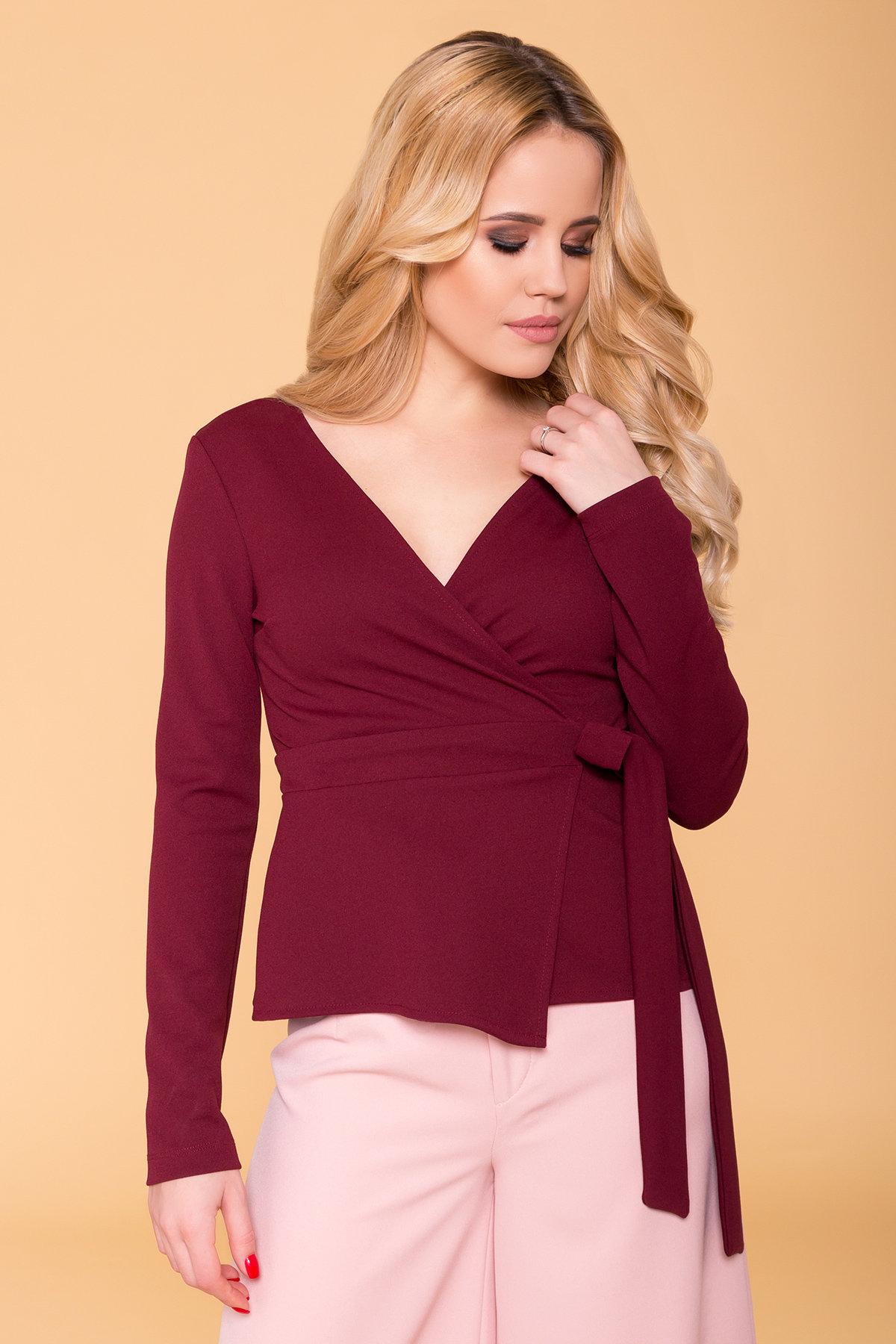 Блуза  Марсо 6432 Цвет: Бордо