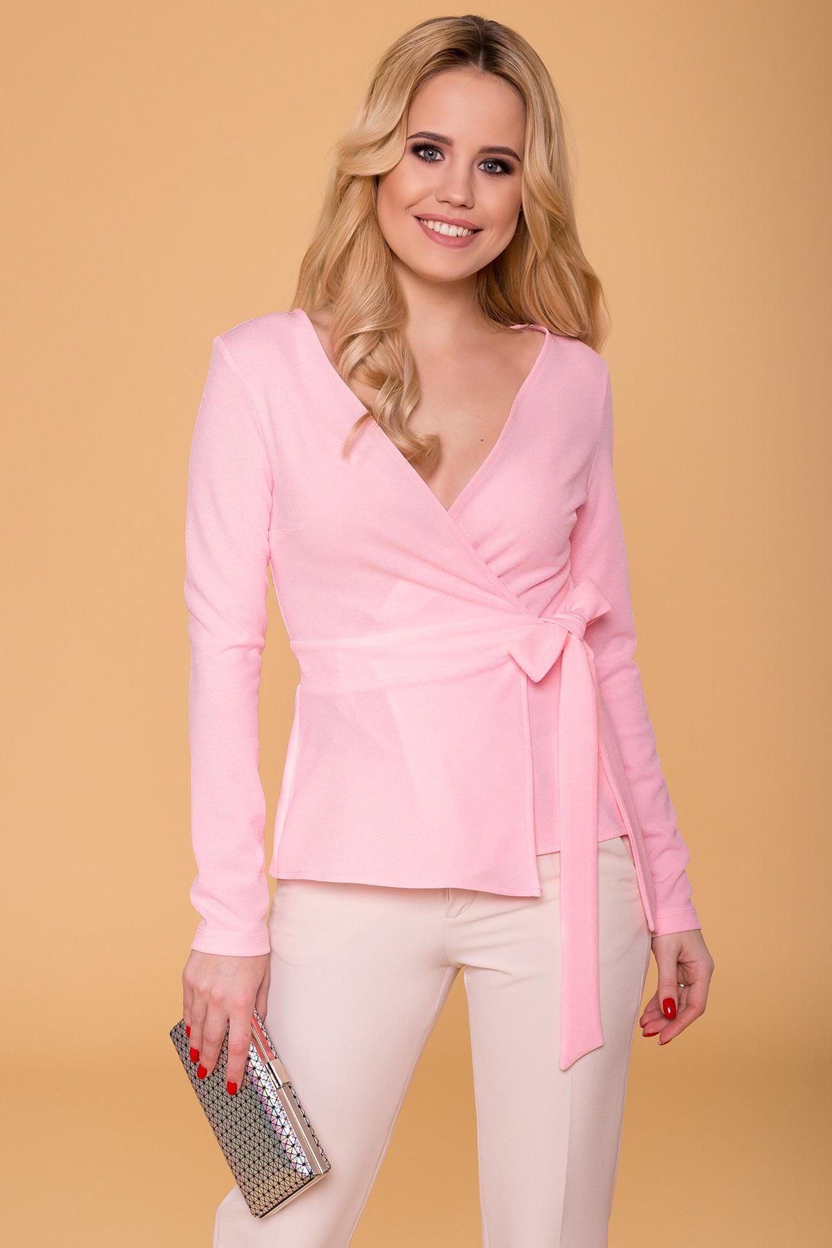 Блуза  Марсо 6432 АРТ. 41433 Цвет: Розовый - фото 3, интернет магазин tm-modus.ru