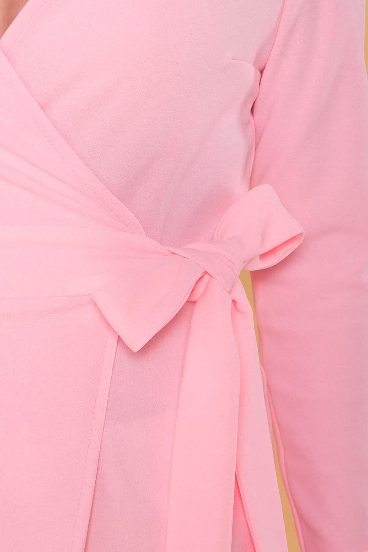 Блуза  Марсо 6432 АРТ. 41433 Цвет: Розовый - фото 4, интернет магазин tm-modus.ru