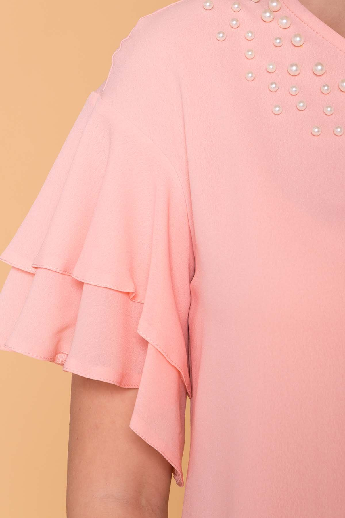Блуза Мария 4882 Цвет: Пудра