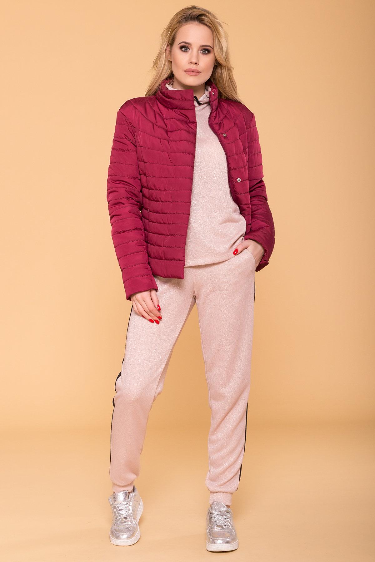 Куртка Флориса лайт 6416 АРТ. 41338 Цвет: Марсала - фото 3, интернет магазин tm-modus.ru