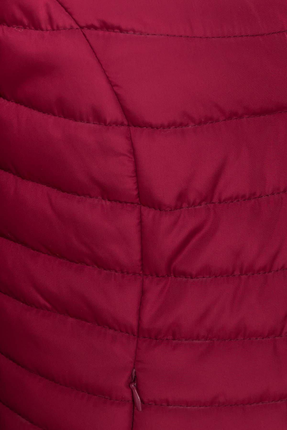 Куртка Флориса лайт 6416 АРТ. 41338 Цвет: Марсала - фото 5, интернет магазин tm-modus.ru