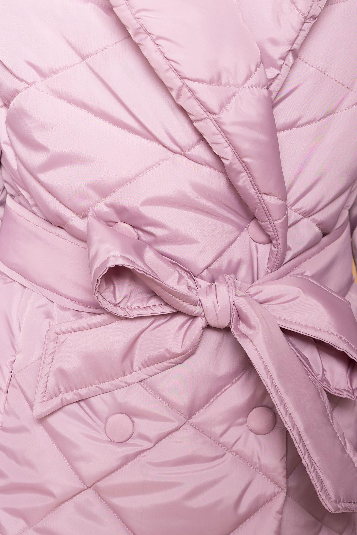 Пальто Сандра 6422 Цвет: Серо-розовый