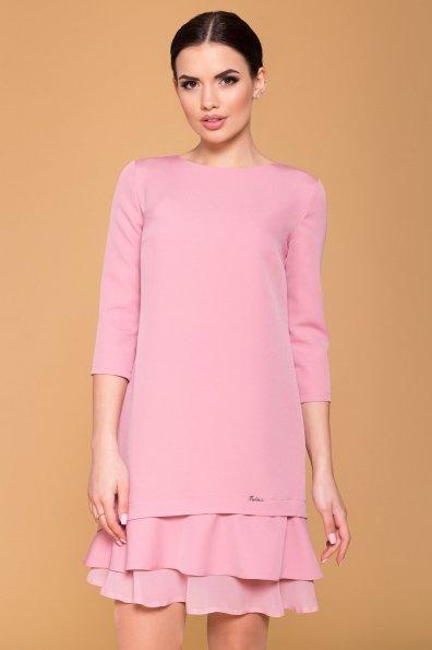 Платье Холли 5952 Цвет: Пудра