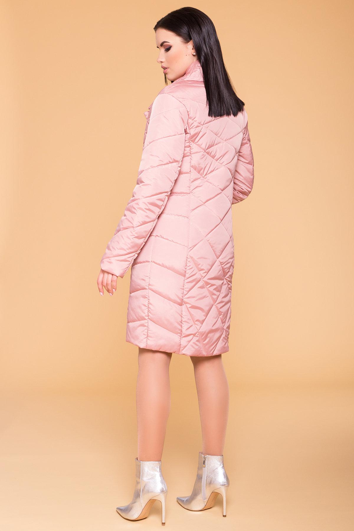 Пальто Сандра 6422 АРТ. 41356 Цвет: Пудра - фото 2, интернет магазин tm-modus.ru