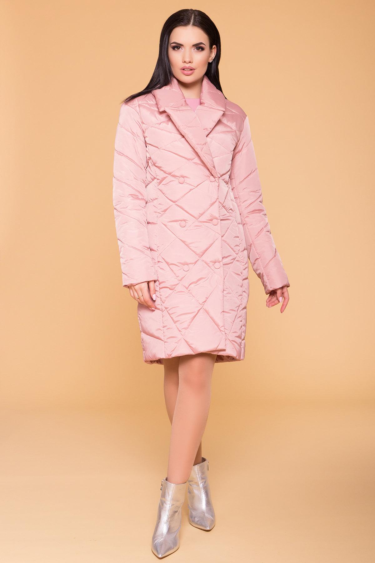 Пальто Сандра 6422 АРТ. 41356 Цвет: Пудра - фото 4, интернет магазин tm-modus.ru