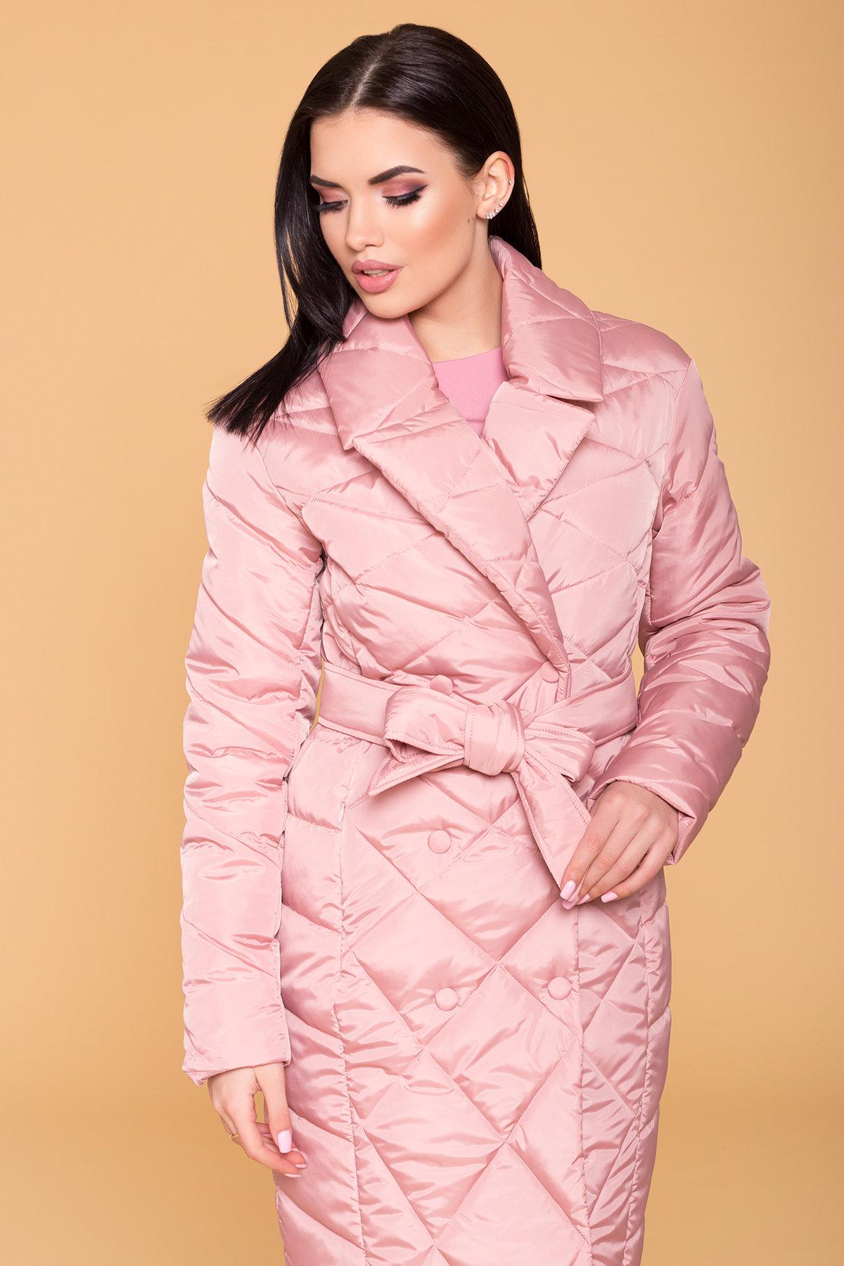 Пальто Сандра 6422 АРТ. 41356 Цвет: Пудра - фото 5, интернет магазин tm-modus.ru
