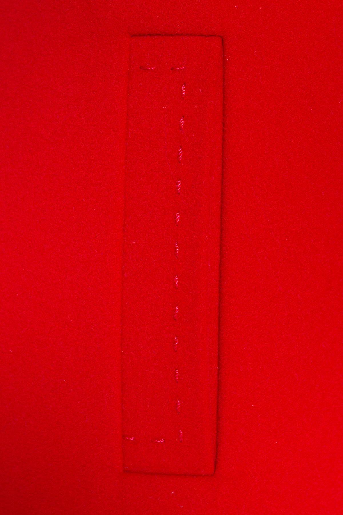Пальто детское Чита 5297 АРТ. 38350 Цвет: Красный - фото 5, интернет магазин tm-modus.ru