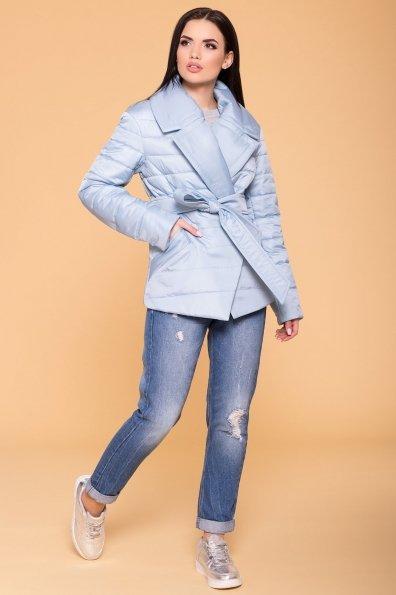 Куртка с отложным воротником Мириам 6414 Цвет: Голубой