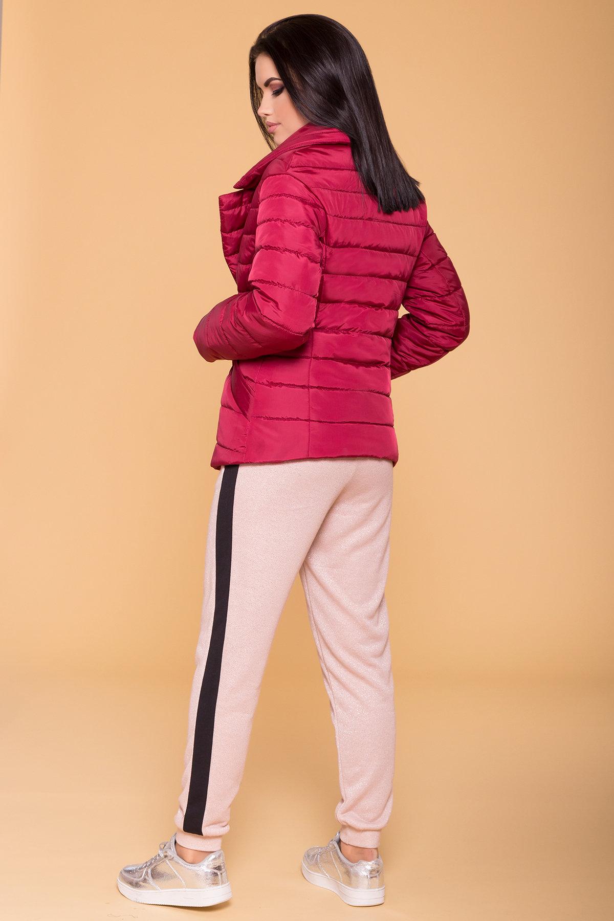 Куртка с отложным воротником Мириам 6414 АРТ. 41383 Цвет: Марсала - фото 2, интернет магазин tm-modus.ru