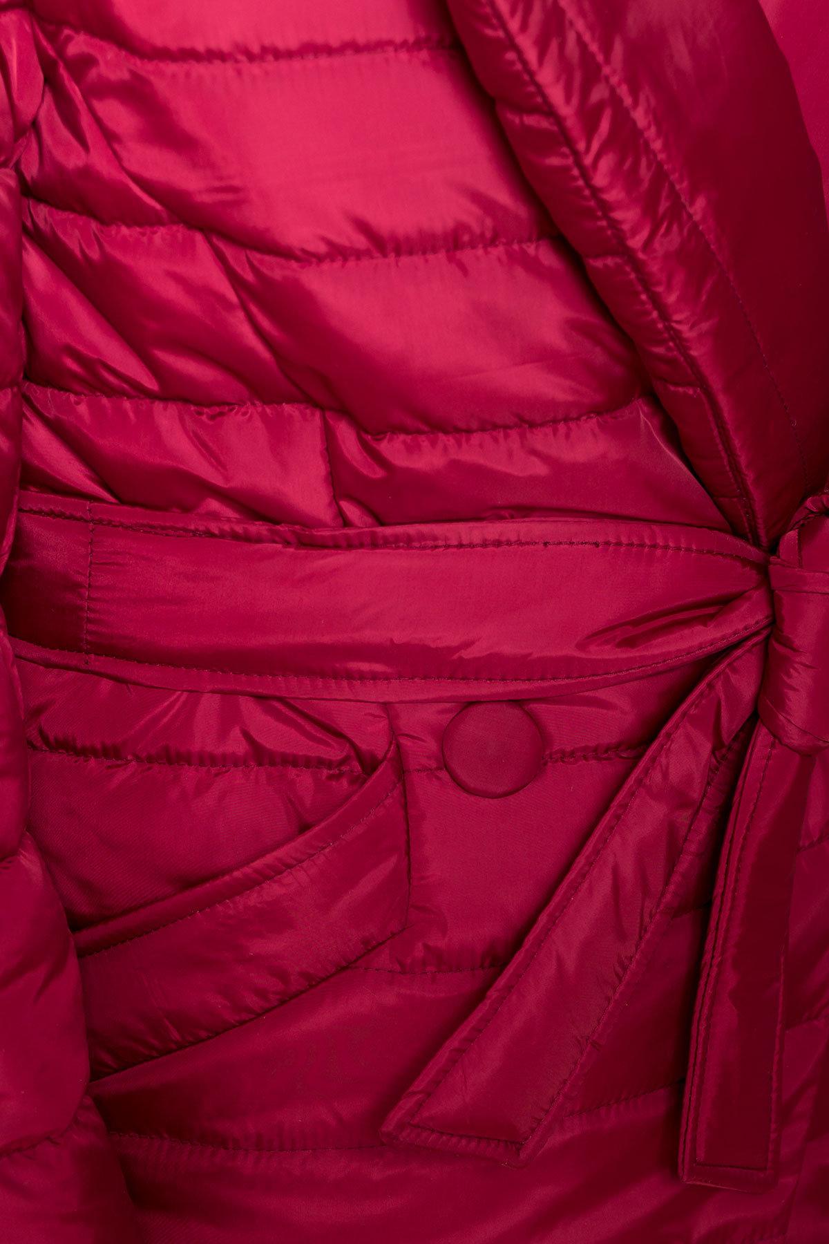 Куртка с отложным воротником Мириам 6414 АРТ. 41383 Цвет: Марсала - фото 6, интернет магазин tm-modus.ru