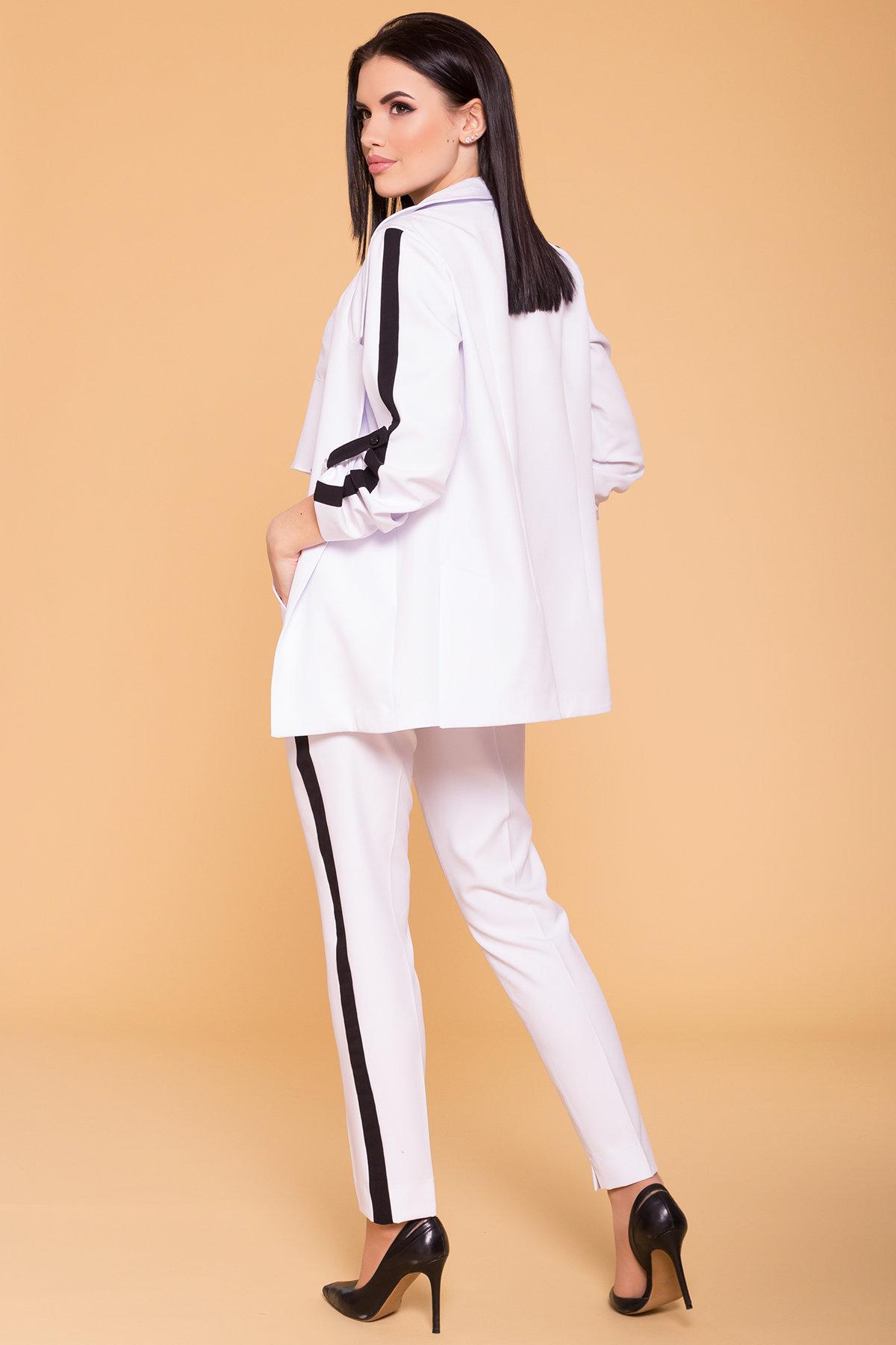 Костюм Макеба 3243 Цвет: Белый/черный
