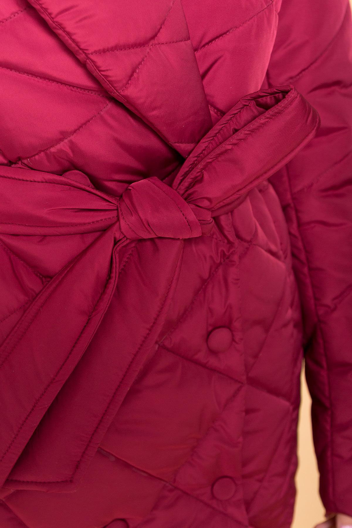 Пальто Сандра 4440 Цвет: Марсала