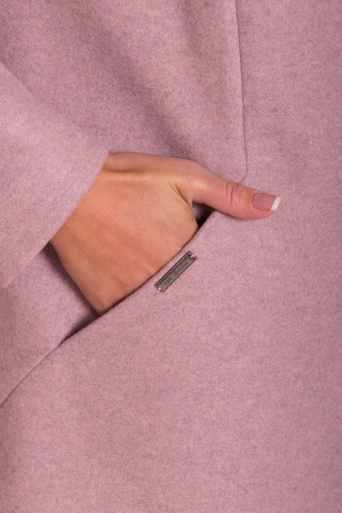Пальто Сплит DONNA 4466 Цвет: Пудра 91